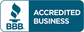 Logo for Accredited Better Business Bureau