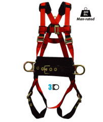 Elk River Eagle Series Lite Harness | Sizes S-3XL Fall Protection