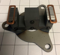 JF857 - Plate & Frame Assembly for Coffing JLC Hoist Brake & Solenoid Parts